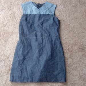 Kate Spade Saturday Chambray/Denim/Sheath Dress XL